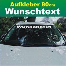 """Auto Frontscheiben Aufkleber """"Wunschtext"""" 80cm weiß Klebebuchstaben Wunschmotiv"""
