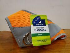 New listing Top Paw Comfort Harness Orange Reflective - Large