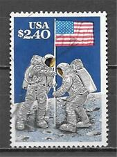 GEO'S STAMP - 2419 $2.40 Moon Landing Used  (Free Ship Offer)
