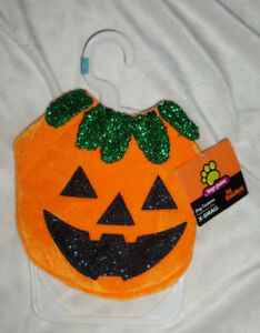 "DOG COSTUME TOP PAW Pet HALLOWEEN Costume ""PUMPKIN"" X-Small NWT Christmas Gift!"