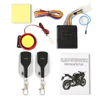 12V Motorcycle Motorbike Start Anti-Theft Security Alarm System 2 Remote Control