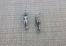 DEEP WATER SPORT JEWELRY 1 SKIN DIVER PEWTER THREE DIMENSIONAL CHARM OR PENDANT