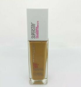 Maybelline Superstay Liquid Foundation 334 Warm Sun Full Coverage Up to 24H