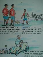 años 50 Domingo Wasaldua Villalba, Tropezones dice Suecia Especial Urgente......