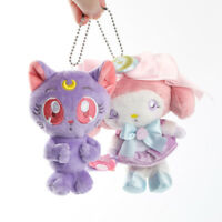 Sailor Moon × My melody colabo Bag Charm Limited SANRIO LUNA MOON Plush keyring