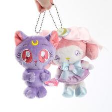 Sailor Moon × My melody colabo Bag Charm Limited SANRIO LUNA MOON Plush keyring