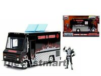 Jada 1:24 Marvel Deadpool Taco Truck with Deadpool figure Black 30540 Metals