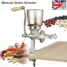 Corn Wheat Grinder Cast Iron Big Hopper Grain Manual Grinder Home Kitchen Bakery