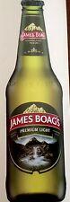 James Boag's  - Bottle Shaped Vinyl Decal/Sticker 26.5cm x 8cm.