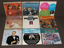 GUY LOMBARDO AND HIS ROYAL CANADIANS 17 LP RECORD ALBUMS LOT COLLECTION Vintage