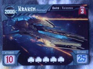 KRAKEN (Destroyer) - Titanium Wars   / 2017 tabletop day promo card