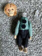 "RARE Antique Vintage 3"" Schuco Monkey Bellhop Green /Black Perfume Holder ca1920"