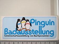 Aufkleber Sticker Pinguin Badausstellung Gemeinschaft Bad Spezialisten (2278)