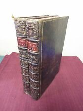 1778 2 Folio Volume Biblia Sacra Vulgate