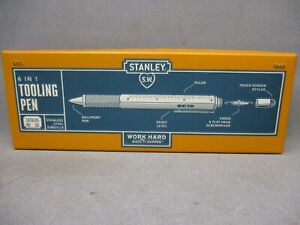 Stanley Tools 6 in 1 Tooling Pen #1843 New Free Shipping