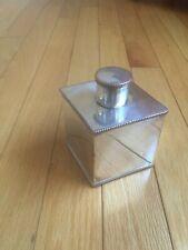 Vintage Silver on Copper Snuff or Vanity Box Bottle - Rhombus - Unique Rare 265g