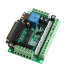 5 Axis CNC Breakout Board With Optical Coupler For MACH3 Stepper Motor Driver