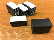 50 Self Adhesive Magnets Magnetic Strips 25 x 12.5mm Cut magnetic strip pieces