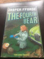 Jasper Fforde - The Fourth Bear - Signed - UK First First Edition Hardbook