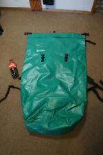 """Cascade Designs Teal 43x26"""" Canoe Pack Backpack Dry Bag Whitewater Hydraulic"""