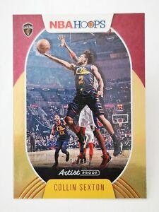 Panini Hoops 2020-21 N20 NBA #7 ARTIST PROOF GOLD PARALLEL 04/10 Collin Sexton