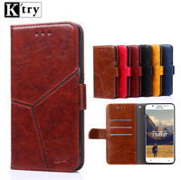 For Redmi Note 2 / 3 / 4 Magnetic Flip Stand Card Wallet PU Leather Case Cover