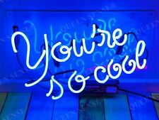 """New You Are So Cool Acrylic Neon Light Sign 14""""x10"""" Lamps Homemade Display"""