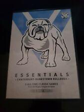 NRL Essentials Canterbury Bankstown Bulldogs dvd like new free post 3 disc set