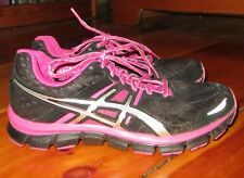 Asics Gel- Blur 33 black / pink athletic shoes Size 7