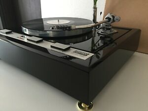 THORENS TD 125 Piano Black Plinth Zarge (without turntable!)