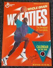Michael Air Jordan Wheaties Chicago Bulls 1991 Nike MJ GOAT 23 Calendar