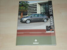 57425) Renault Grand Scenic Pressemappe 2004