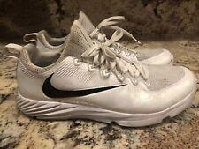 Nike Vapor Speed Mens Lacrosse Turf Football Shoes White Size Sz 11.5 856542-109