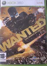 """JEU XBOX 360 """"WANTED"""" (Les Armes Du Destin) NEUF SOUS BLISTER"""