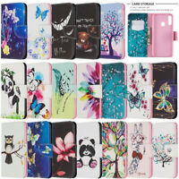 For Samsung Galaxy A10S A20S A30S Painted Wallet Flip Leather Phone Case Cover