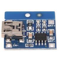 3X(TP4056 1A Modulo embarcar cargador lipo de carga de bateria de litio DIY M E6
