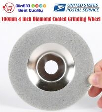 "100mm 4"" Diamond Coated Grinding Wheel Disc Carbide Grinder Rotary Tool USA"