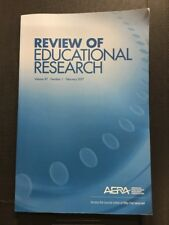 Review Of Educational Research Vol87 Number 1 February 2017  - Like New
