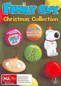 BRAND NEW SEALED Family Guy : Christmas Collection (DVD, 2017, 3-Disc Set) R4