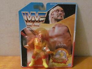 Vintage Carded WWF Hulk Hogan (Gorilla Press Slam} Hasbro 1990