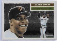 2005 Topps Heritage Chrome Barry Bonds SP /1956 No. THC5