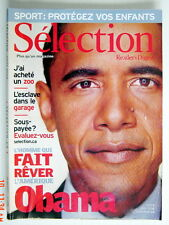 SÉLECTION DU READER'S DIGEST DE AOÛT 2008, EN COUVERTURE BARRACK OBAMA