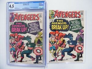 Avengers #10 RARE Color Variant! CGC 4.5