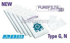 Per adattare Miele completa C2, C3 Serie GN Hepa Aspirapolvere Sacchetto 5 + 1 FILTRO Pack