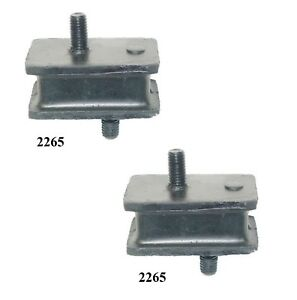2 PCS FRONT LEFT & RIGHT MOTOR MOUNT FOR 1979-1981 DODGE D150 3.7L