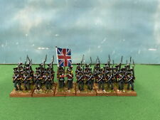 15mm Napoleonic Painted British Line Infantry Battalion