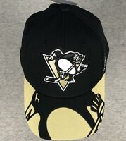 Pittsburgh Penguins Hat - Reebok Center Ice - Flex Fit - Two Sizes Available