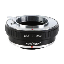 K&F Lens Mount Adapter for Exakta to Micro 4/3 Olympus PEN OM-D G3 GH4 KF-EXAM43