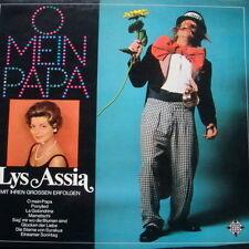 """12"""" Lys Assia Mit Ihren grossen Erfolge (O mein Papa, Ponylied, Mamatschi) 70`s"""