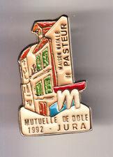 RARE PINS PIN'S .. BANQUE BANK ASSURANCES MUTUELLE DE DOLE JURA PASTEUR 39 ~B9